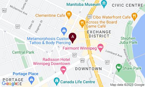 map of ARTHUR STREET PARKING LOT INC.