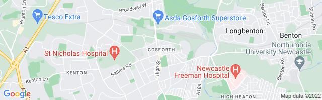 Map Of Gosforth