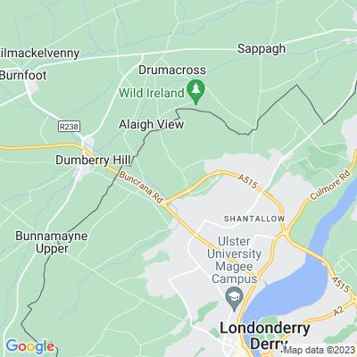 Glengalliagh Hall Location