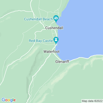 Glenariff Lodge Location