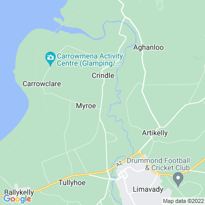 Wheatfield, Londonderry Location