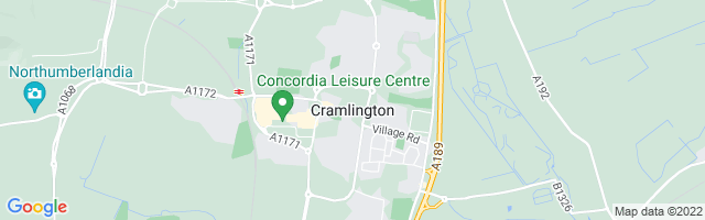 Map Of Cramlington
