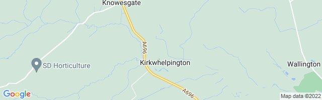Map Of Kirkwhelpington