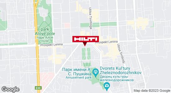 Get directions to Региональный представитель Hilti в г. Челябинск