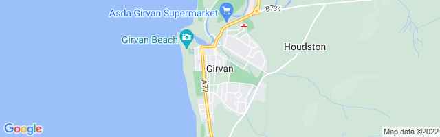 Map Of Girvan