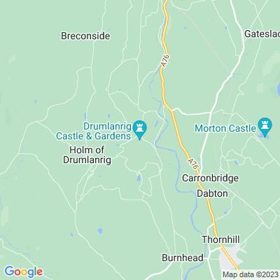 Drumlanrig Castle Location