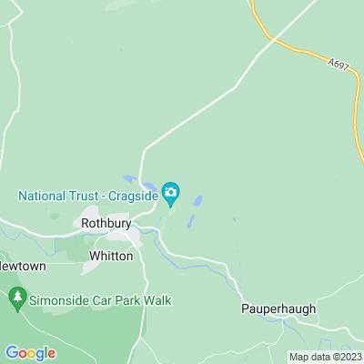 Cragside, Formal Gardens Location