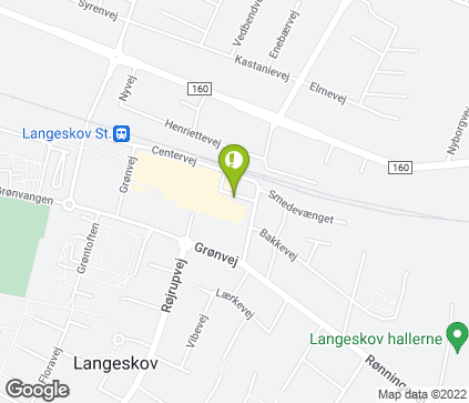 Map of Langeskov Centret 1 in Langeskov