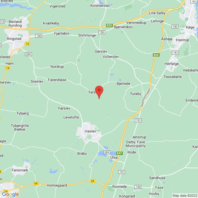 Terslev IF map