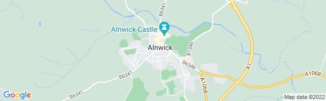 Map Of Alnwick