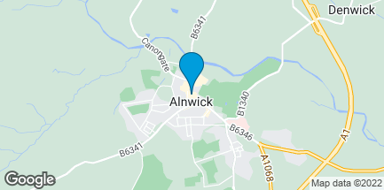 Map of 60 Bondgate Within in Alnwick