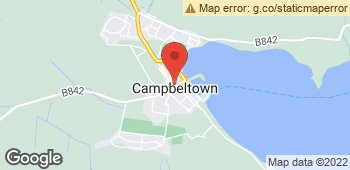 Map of Mcivors at 8 Longrow South, Campbeltown, Argyll PA28 6AH