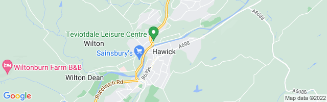Map Of Hawick