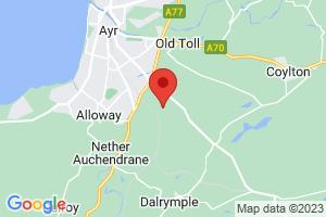 Ayr Hospital Library on the map