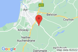 Ayrshire and Arran Health Information & Resources Service on the map