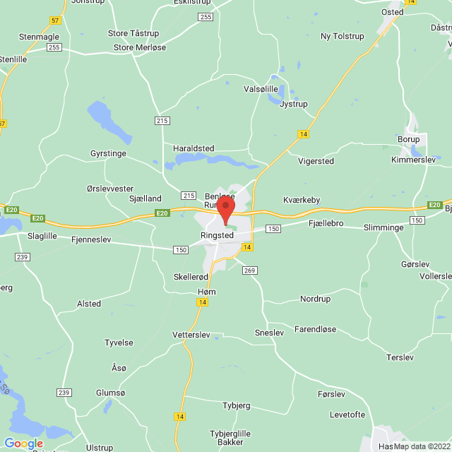 TMS Ringsted map