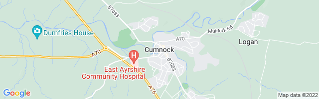 Map Of Cumnock