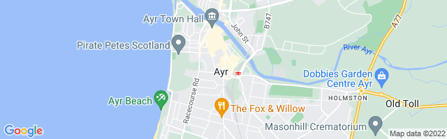 Map Of Ayr