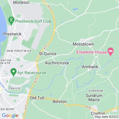 Auchincruive Location
