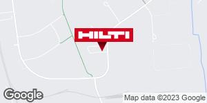 Få vägbeskrivning till Hilti-butik Malmö