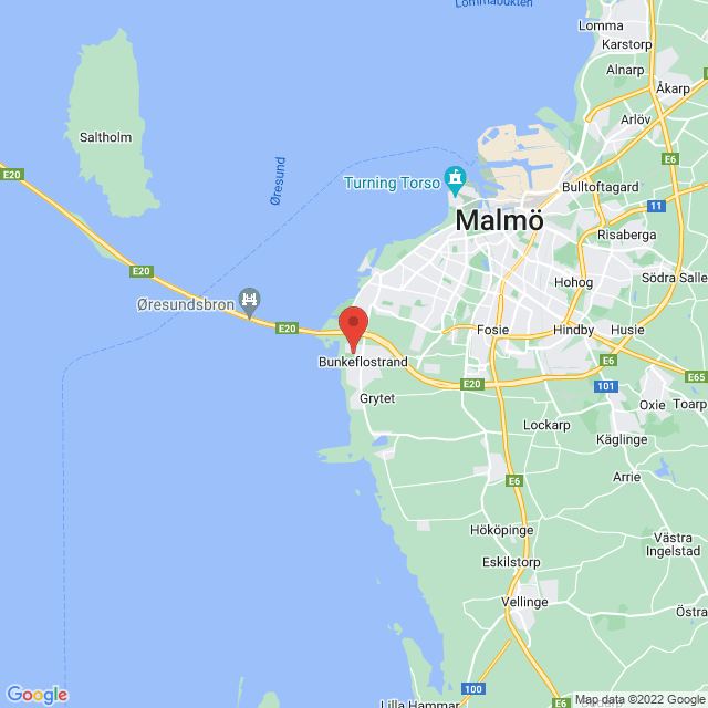 IF Limhamn Bunkeflo map