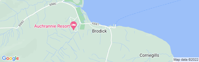 Map Of Brodick