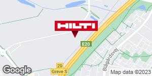 Få rutevejledning til Hilti Store Greve