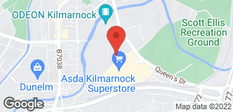 B&Q Mini Warehouse Kilmarnock location