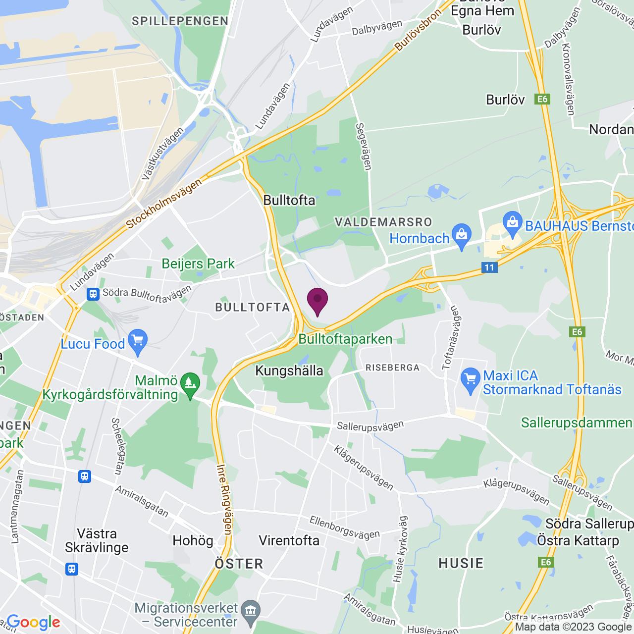 Karta över Källvattengatan 5
