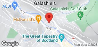 Halfords Galashiels location