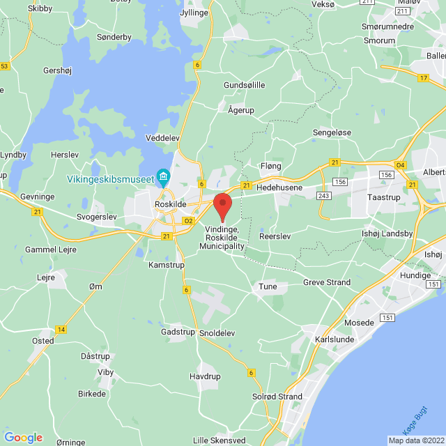 Vindinge IF map
