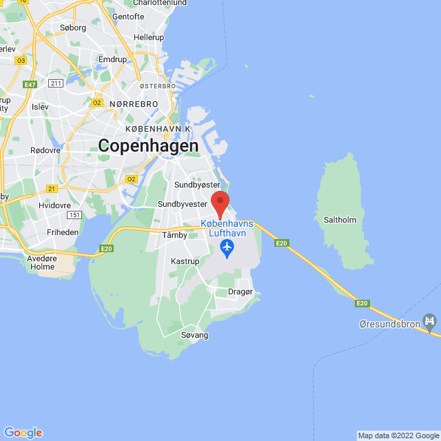 Amager FF map