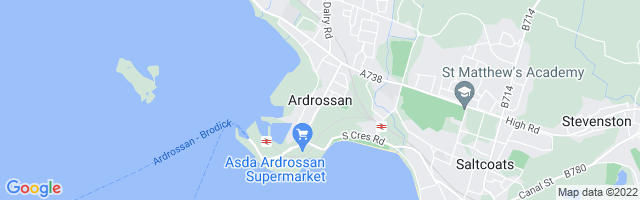 Map Of Ardrossan