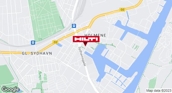 Få rutevejledning til Hilti Store København