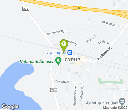 Map of H.P Folkmannsvej 2 in Jyderup