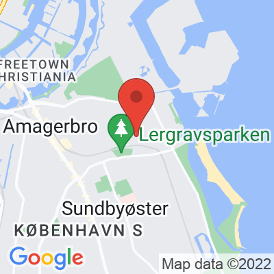 Map showing Cub Coffee Bar (Amager)