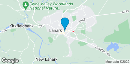 Map of 52 High Street in Lanark