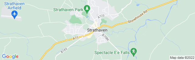 Map Of Strathaven