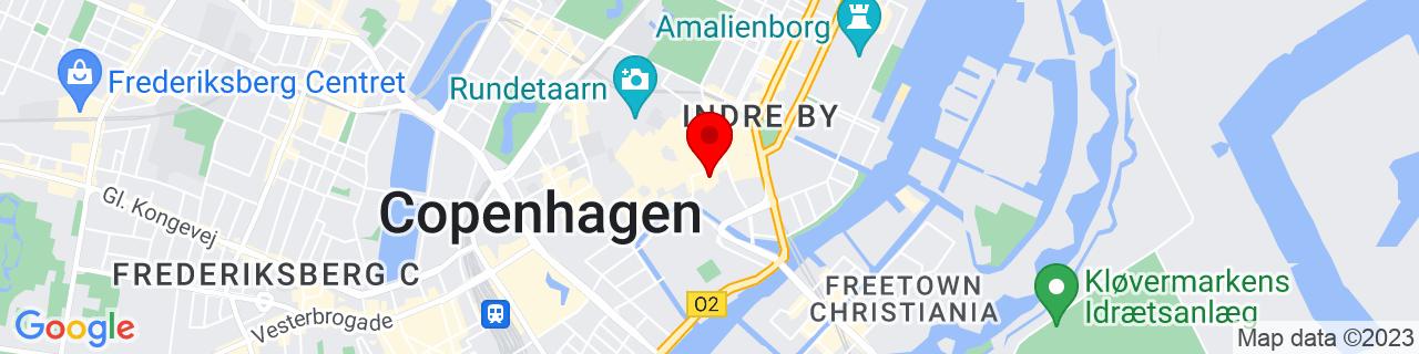 Google Map of 55.678713888888886, 12.581383333333333