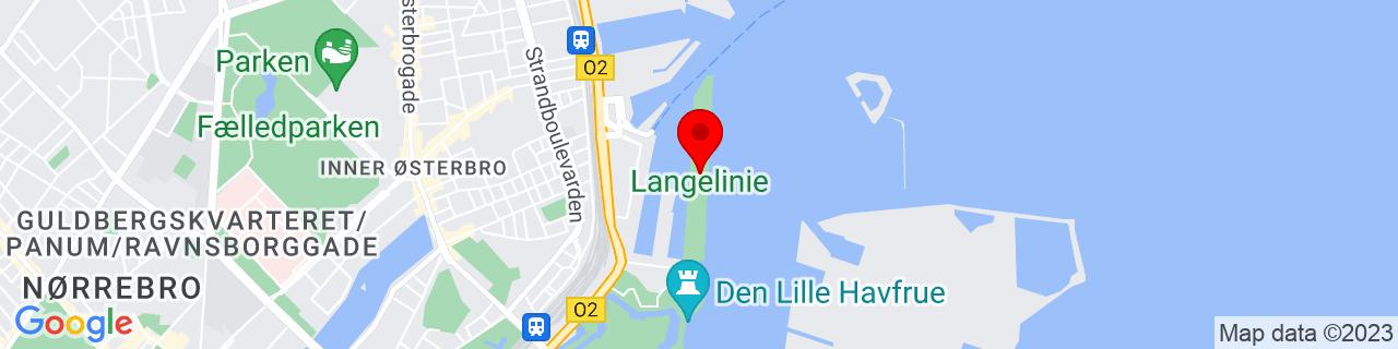 Google Map of 55.6993361, 12.600201599999991