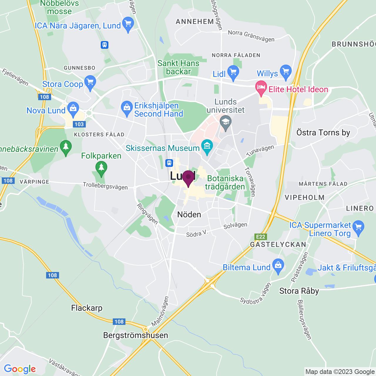 Karta över Stortorget 6-8