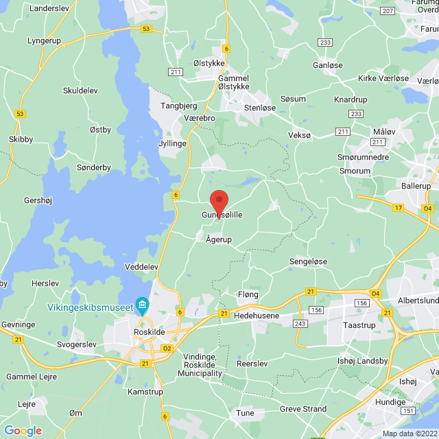 Gundsølille Skytte- Gymnastik & IF map