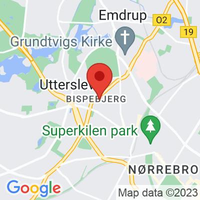 Map showing Kaffedepartementet