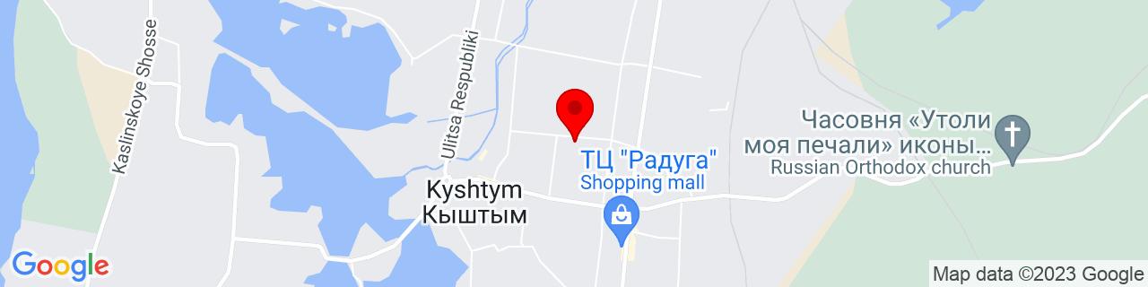 Google Map of 55.7099235, 60.5512079