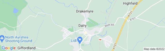 Map Of Dalry