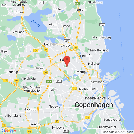 Gladsaxe Cup map