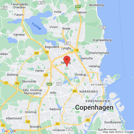 Gladsaxe / CC Sportswear Cup map