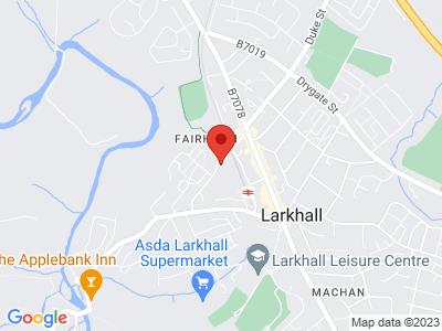 Larkhall Thistle FC Location