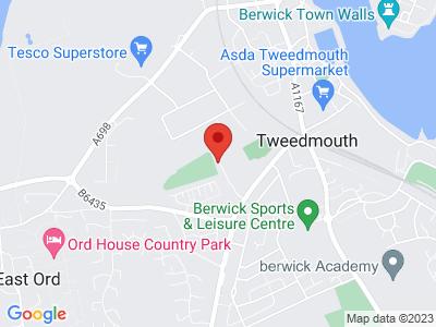 Berwick Rangers FC Location