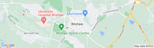 Map Of Wishaw